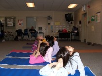 Children's yoga in NJ with Cheryl Rosenberg